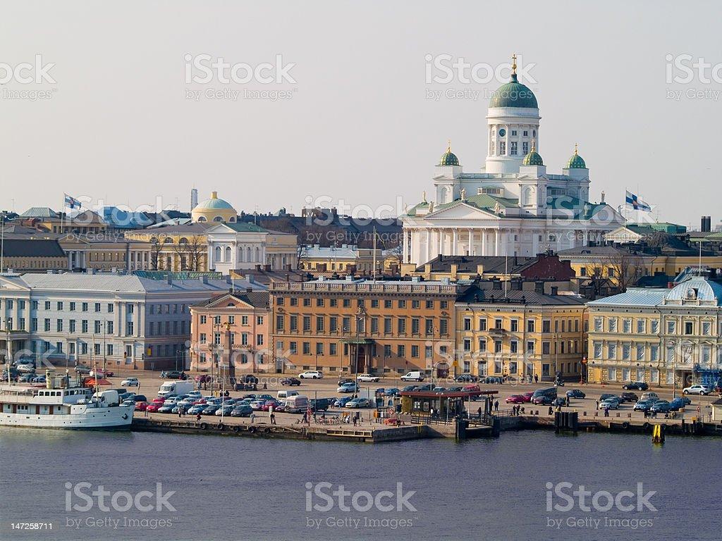 Port of Helsinki royalty-free stock photo