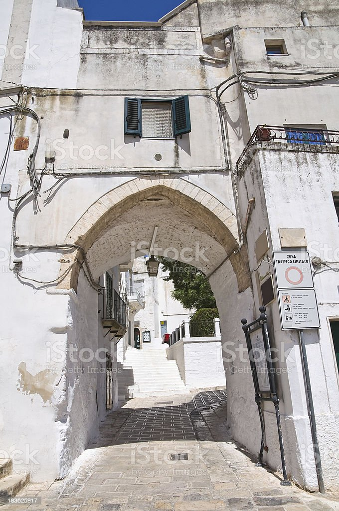 Porta di Giuso. Ceglie Messapica. Puglia. Italy. royalty-free stock photo
