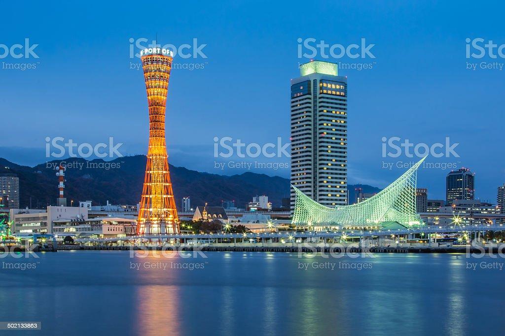Port of Kobe , Japan stock photo