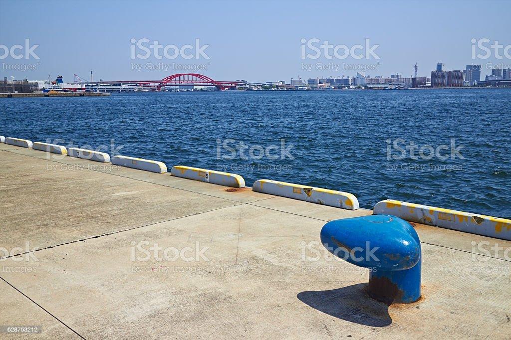 Port de Kobé  photo libre de droits