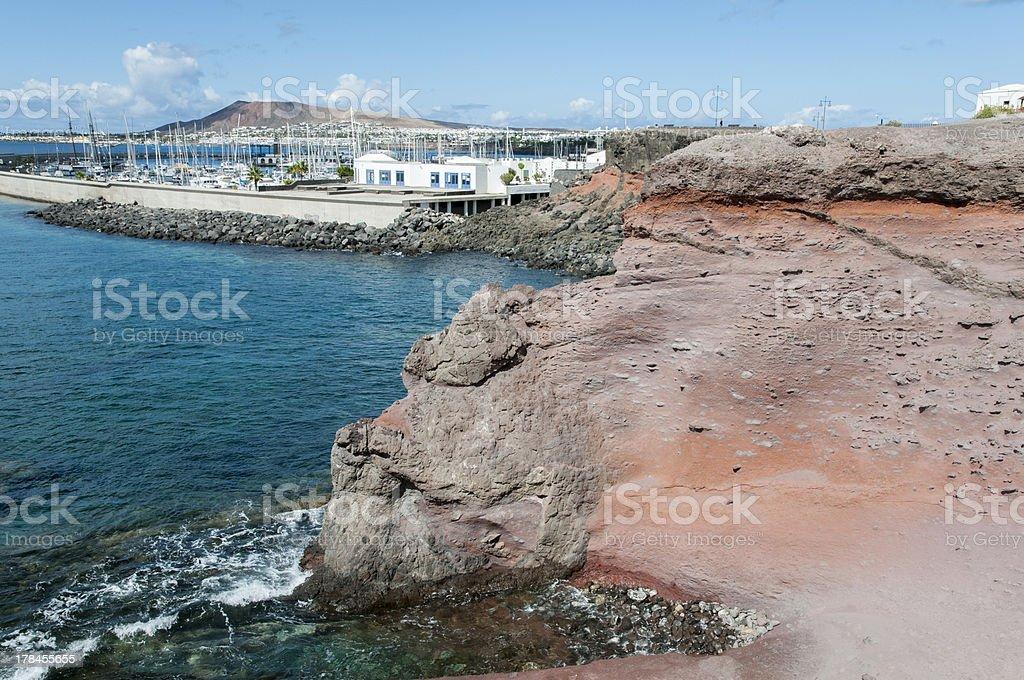 port of Lanzarote royalty-free stock photo
