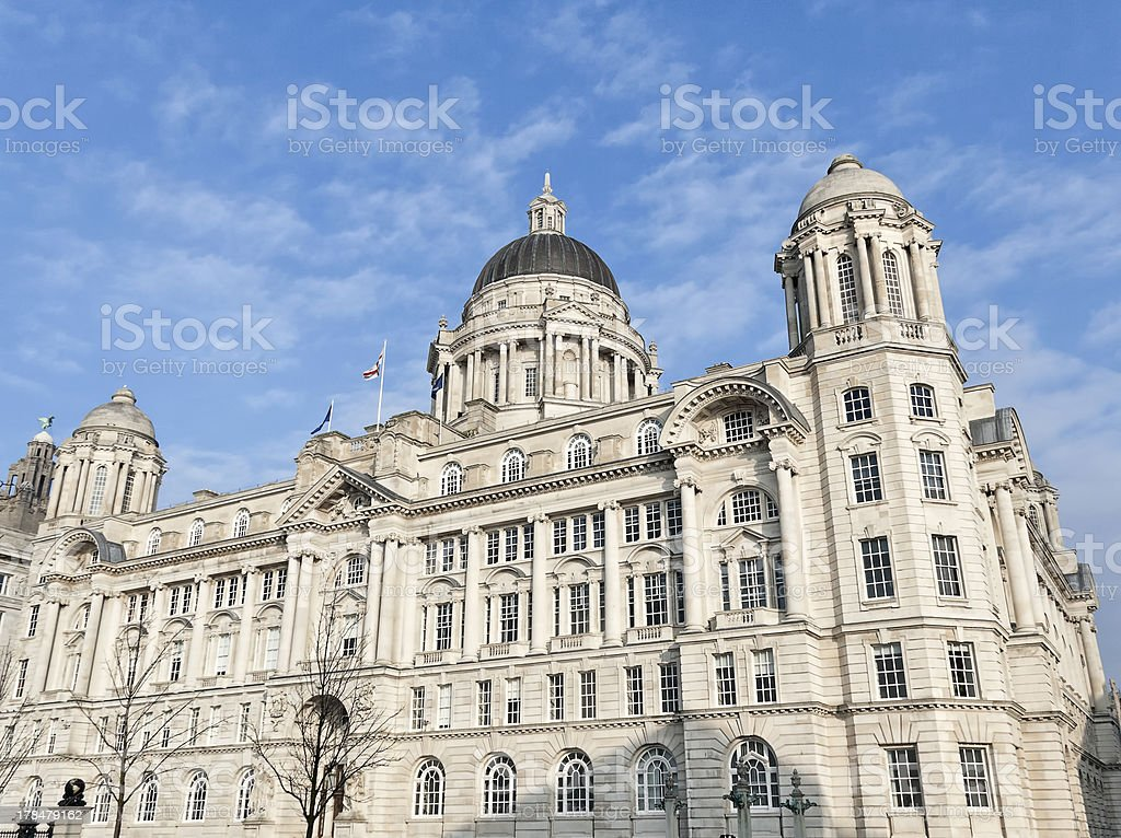 Port of Liverpool Building. royalty-free stock photo