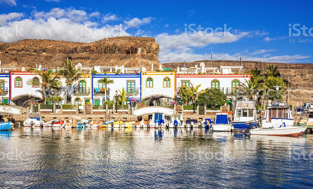 Puerto de Mogan - Gran Canaria royalty-free stock photo