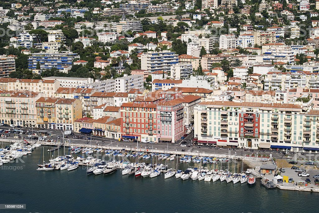 Port of Nice, France royalty-free stock photo