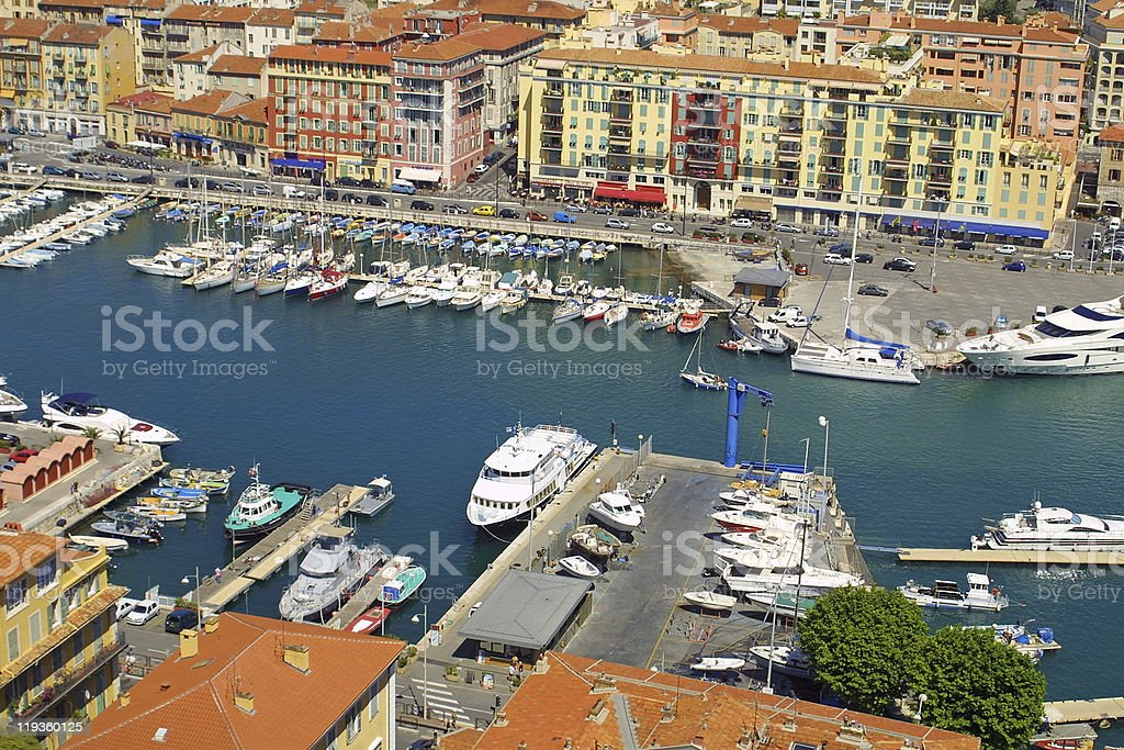 Port of Nice royalty-free stock photo
