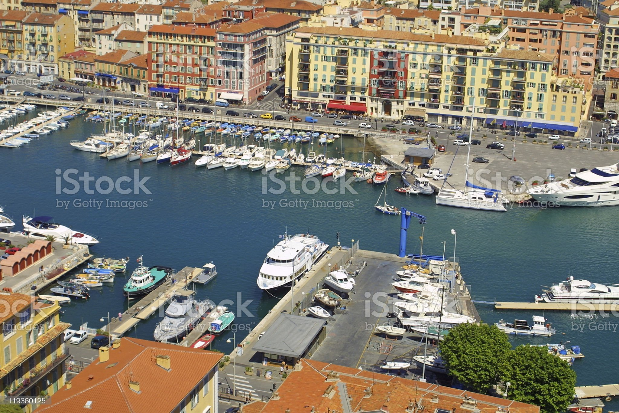 Port of Nice royalty-free stock photo