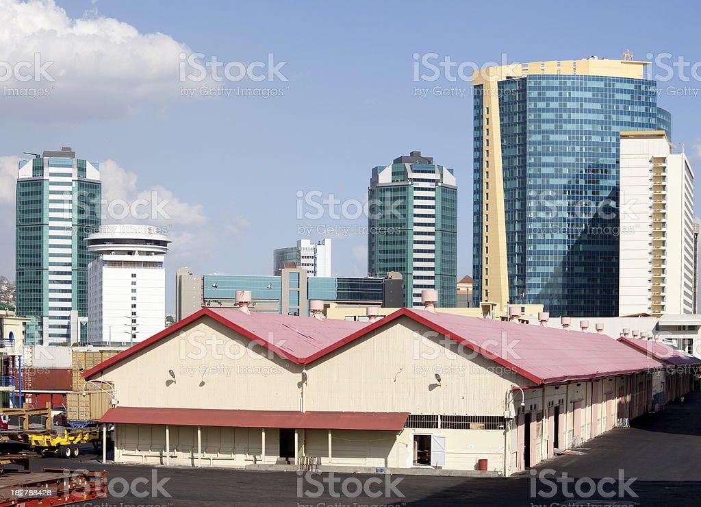 Port of Spain stock photo