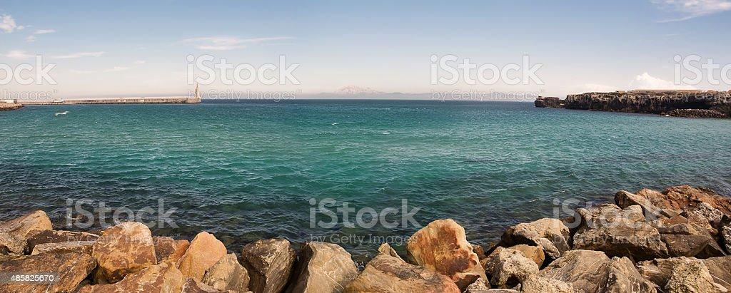 Port of Tarifa (Spain) stock photo