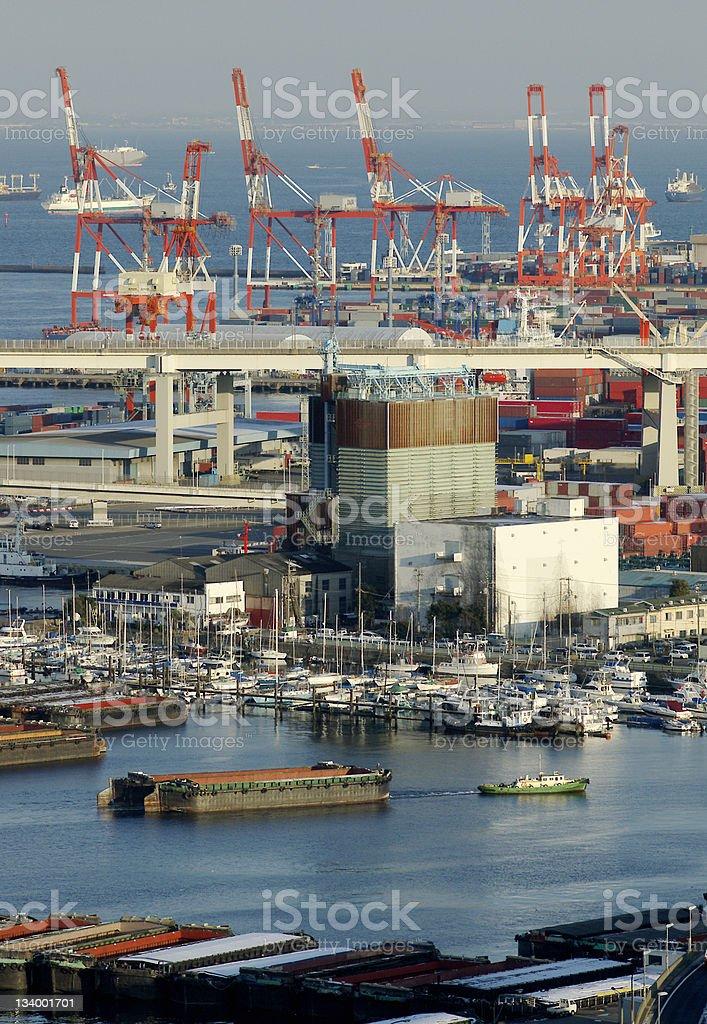 Port of Yokohama royalty-free stock photo