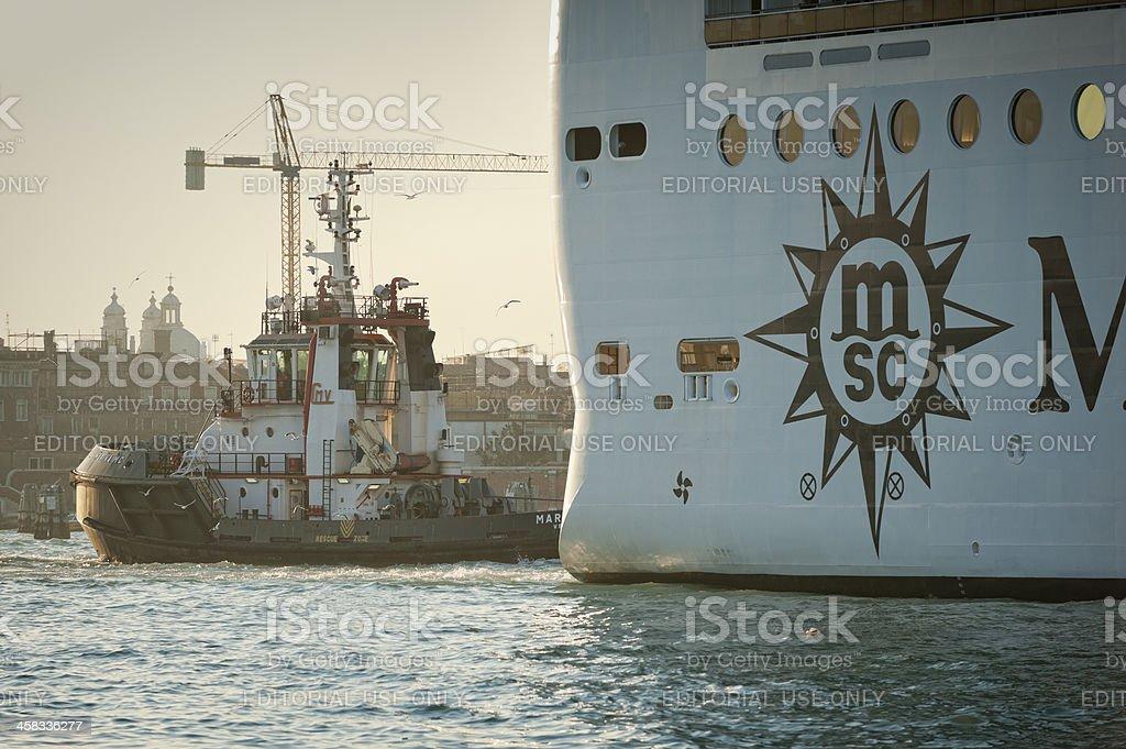 Port operations royalty-free stock photo