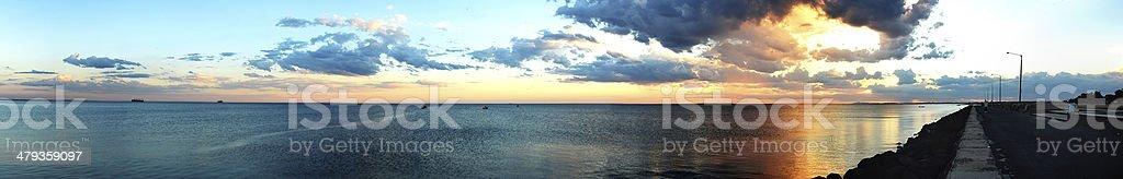 Port Phillip Bay Williamstown stock photo