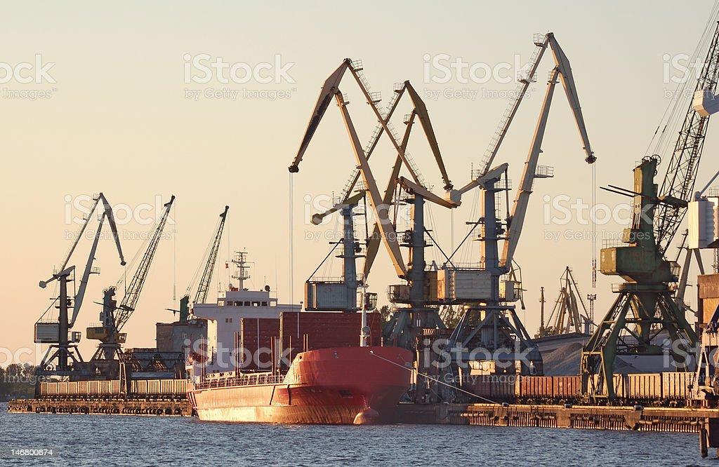 Port. stock photo