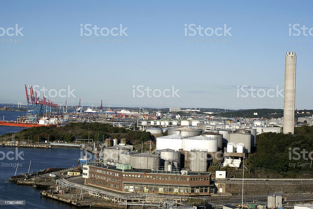Port royalty-free stock photo
