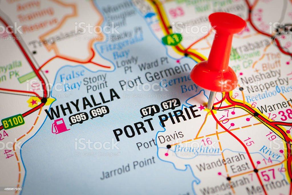 Port Pirie stock photo