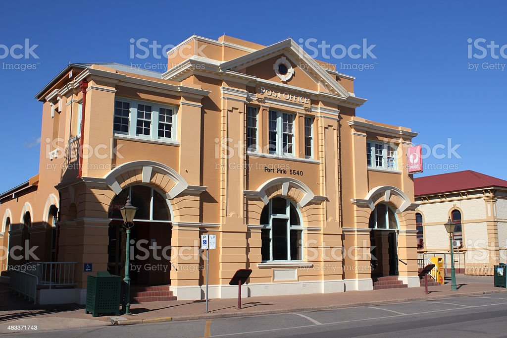 Port Pirie Post Office, South Australia stock photo