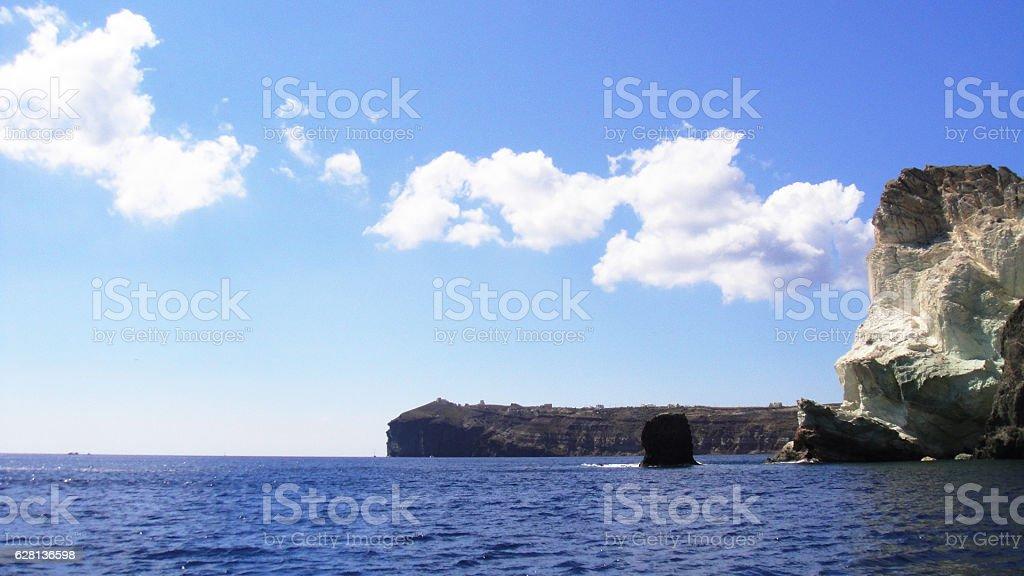 port, resort, restaurants, rocky, picturesque, outdoors stock photo