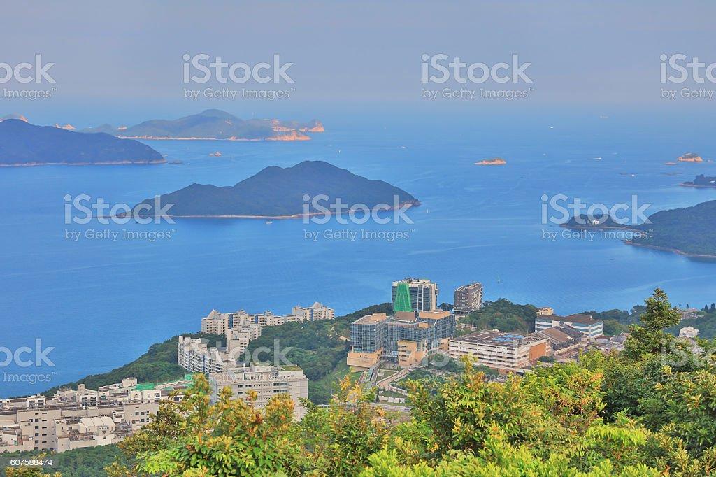 Port Shelter, sai kung, hong kong stock photo