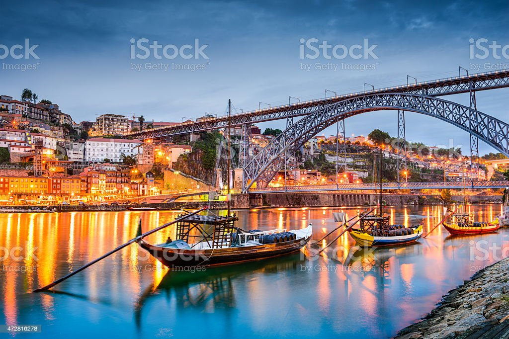 Porto Skyline stock photo