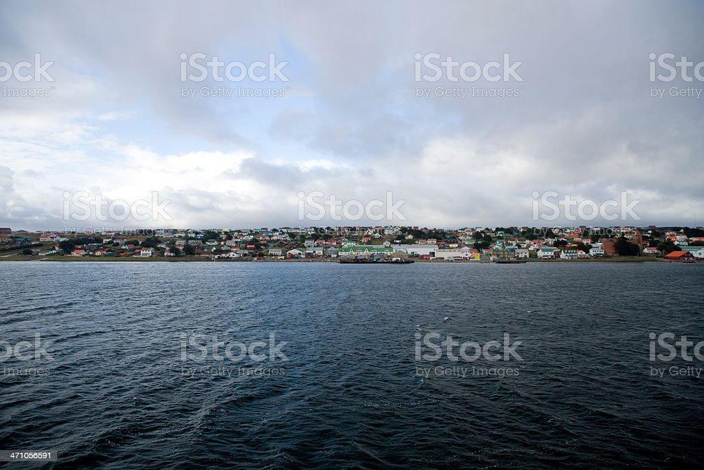 Port Stanley Falkland Islands stock photo