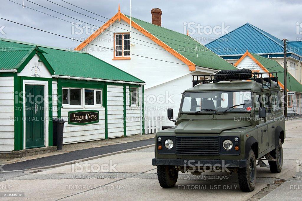 Port Stanley - Falkland Islands stock photo