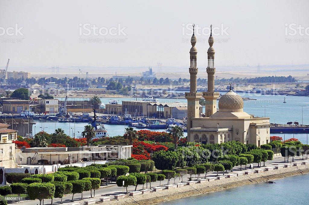 Port Tawfik, Egypt stock photo