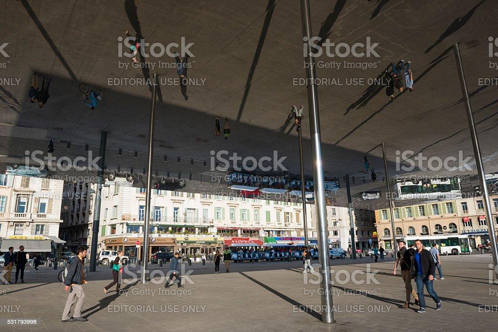 Port Vieux Pavilion in Marseille, France stock photo