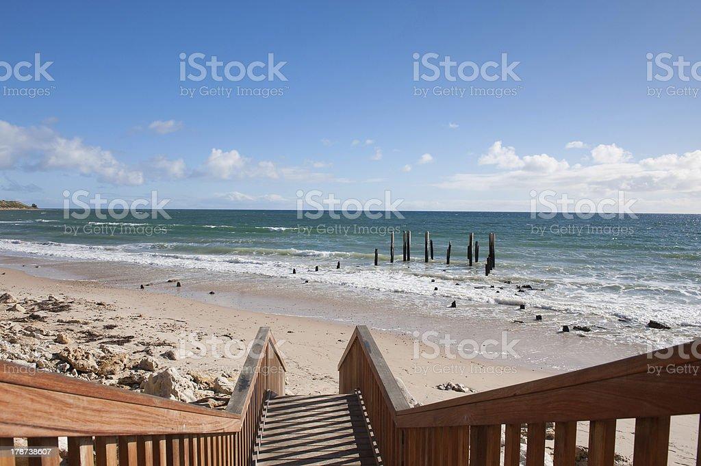 Port Willunga stock photo