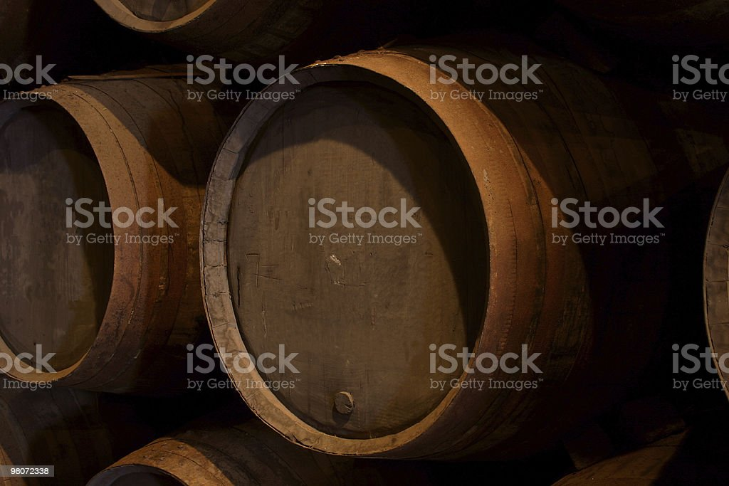 Port Wine Cellar royalty-free stock photo