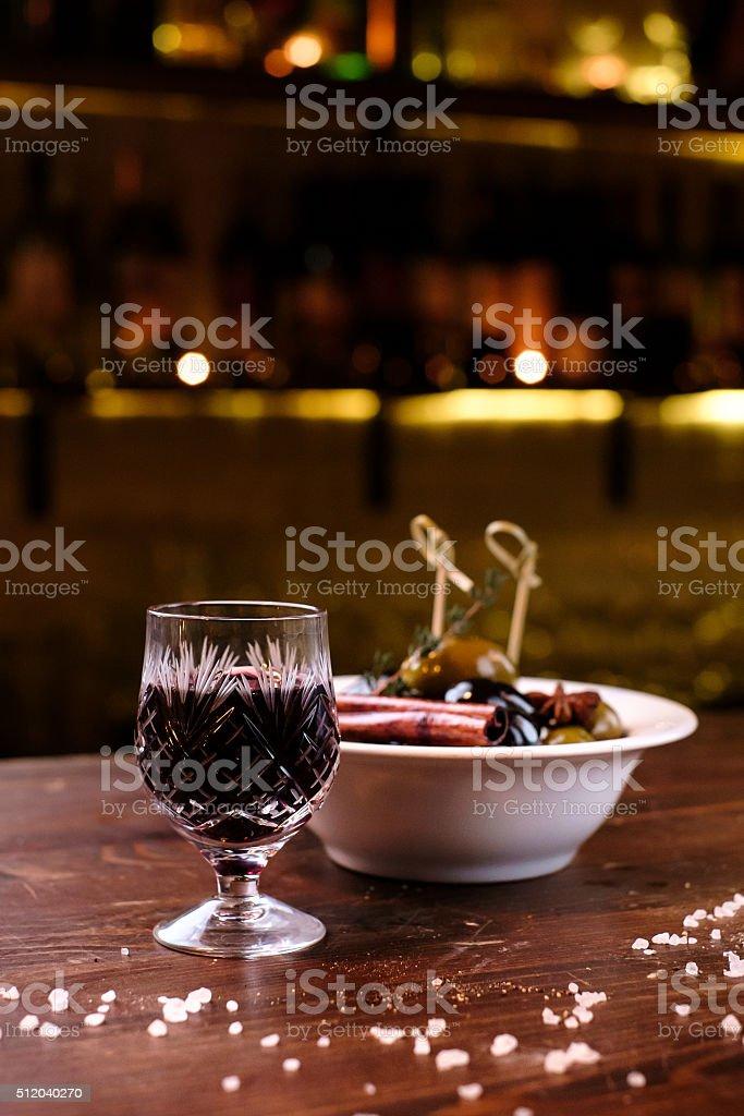 Port wine stock photo