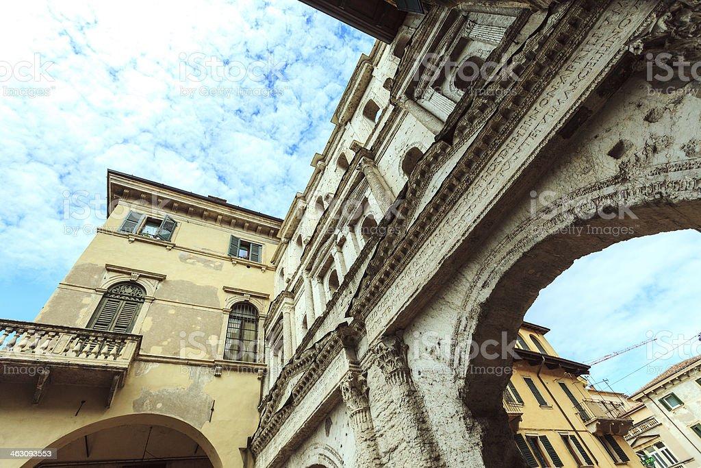 Porta Borsari royalty-free stock photo