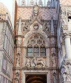 Porta della Carta detail, Doge's Palace, Venice