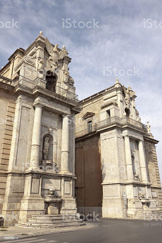 Porta Felice quinquies stock photo