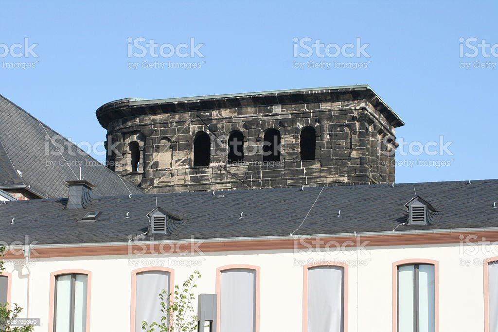 Porta Nigra Trier Germany stock photo
