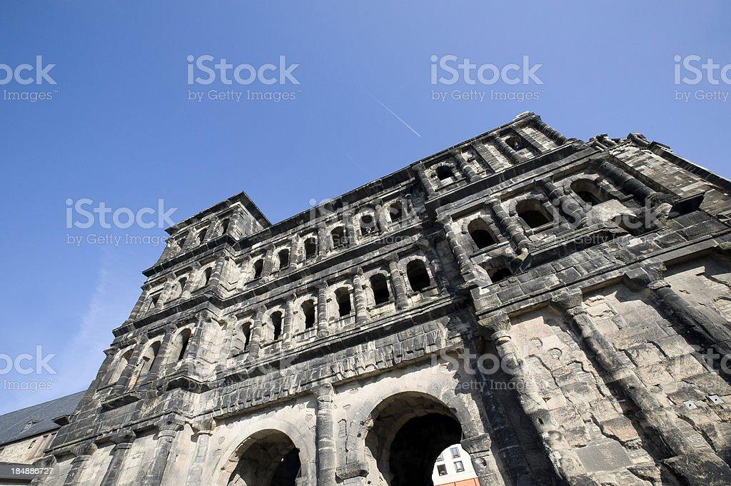 Porta Nigra, Trier royalty-free stock photo