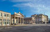 Porta Nuova in Bergamo, Italy