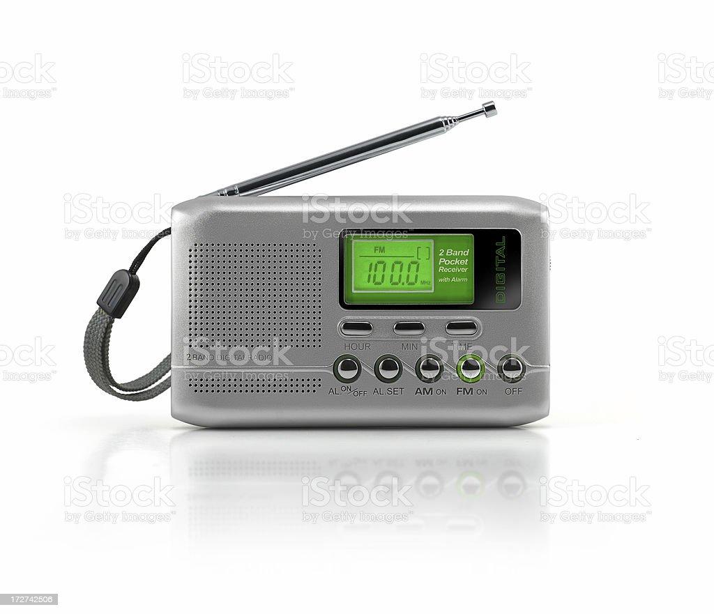 Portable Digital Radio royalty-free stock photo