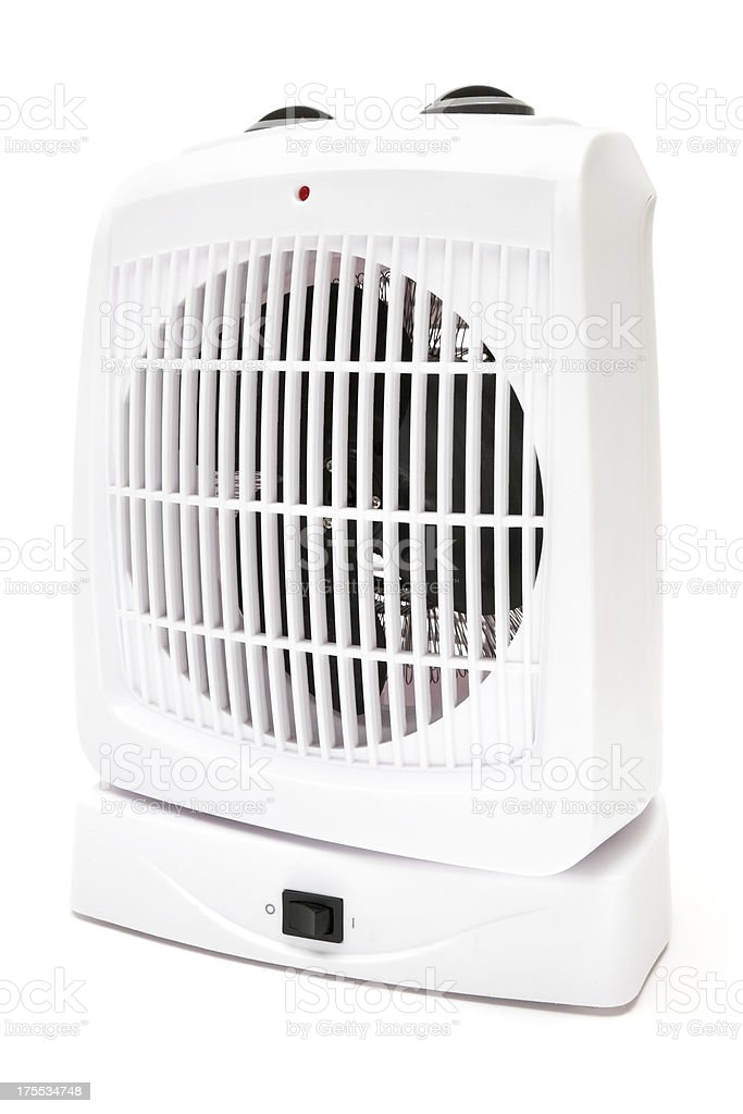 Portable Fan Heater royalty-free stock photo