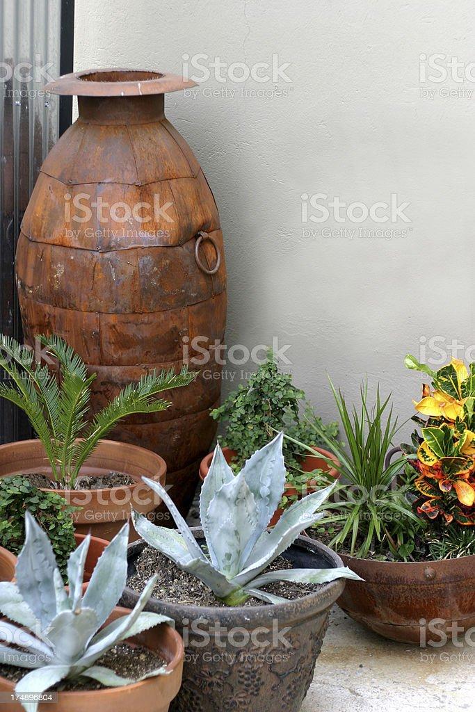 Portable Garden royalty-free stock photo