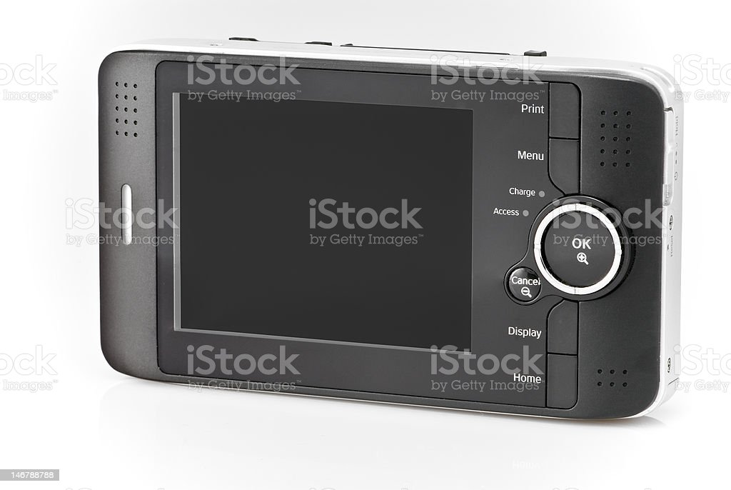 Portable Hard Drive royalty-free stock photo