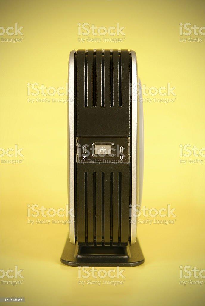 Portable Hard Drive stock photo