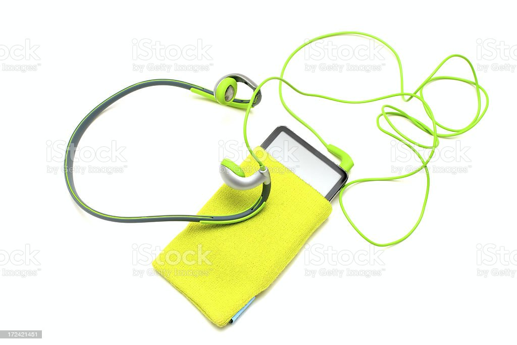 portable music royalty-free stock photo