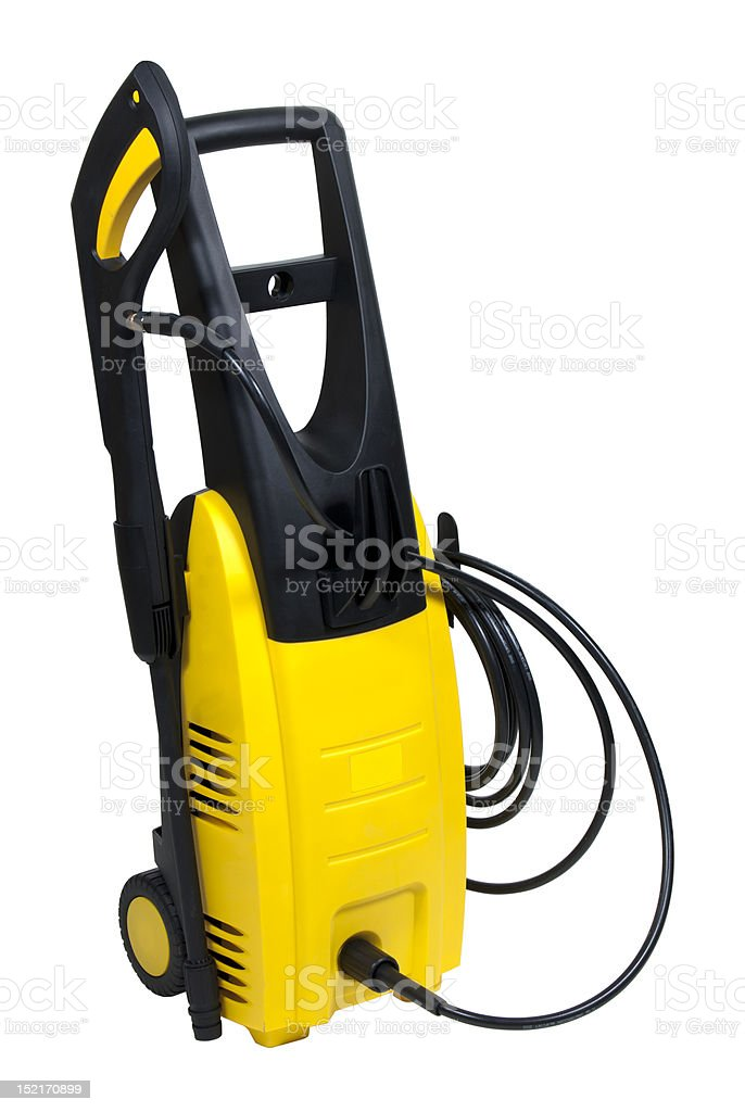 portable pressure washer royalty-free stock photo