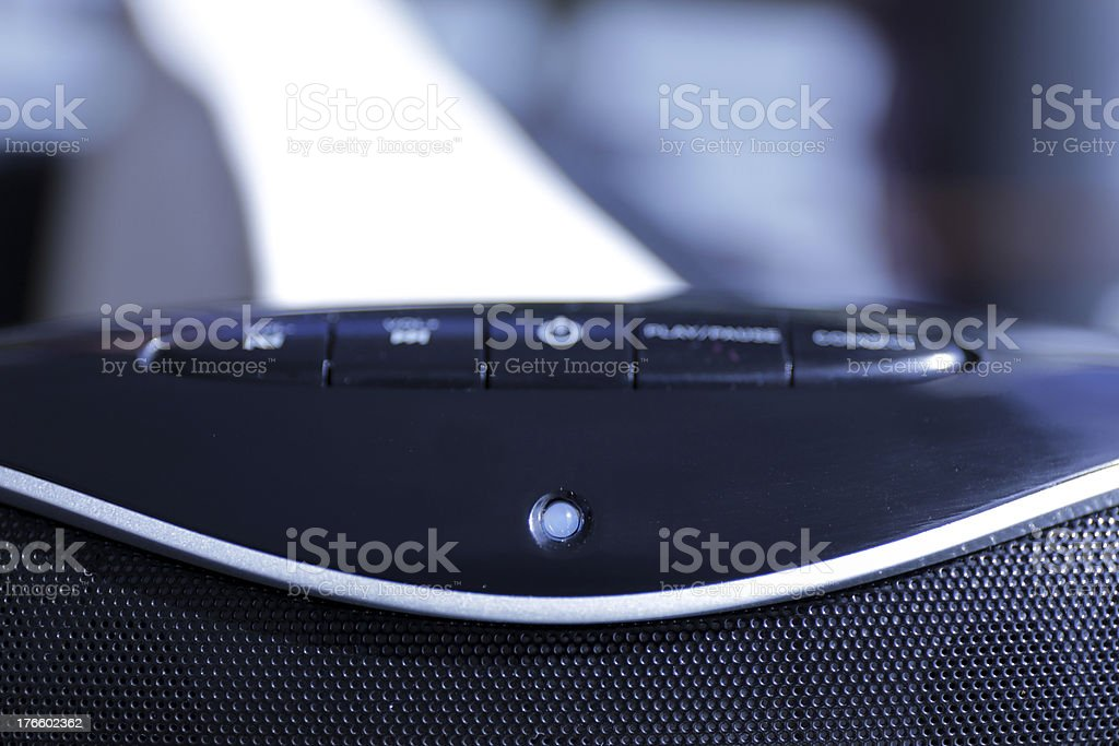 Portable speakers royalty-free stock photo
