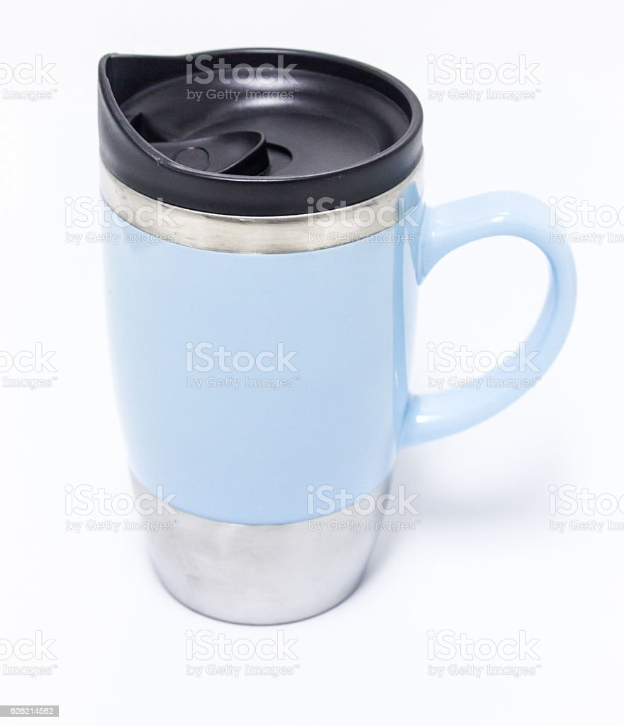 Portable Stainless Steel  Coffee Cup royalty-free stock photo