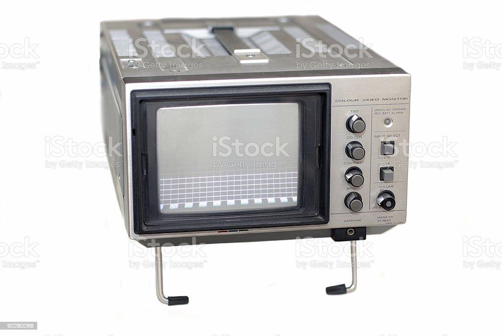 Portable Video Monitor royalty-free stock photo