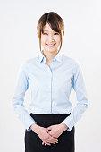 Portait of a Japanese businesswoman