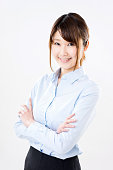 Portait of a Japanese businesswoman