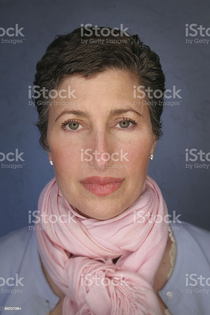 Portait of a Woman royalty-free stock photo