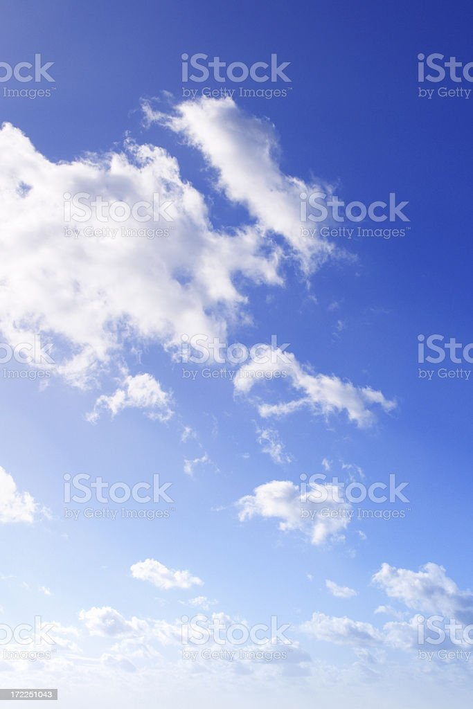 Portait of the sky royalty-free stock photo