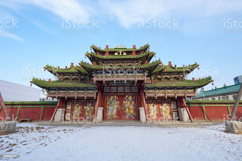 Portal at Winter Palace stock photo